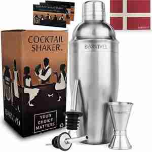 BARVIVO professional cocktail shaker
